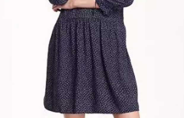 Fabulous Find of the Week: Old Navy Pleated Tie-Neck Dress