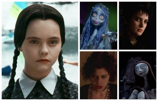 5 Fictional Goth Girls to Inspire Your Halloween Vibe