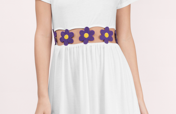 Fabulous Find of the Week: Tobi Floral Cutout Dress