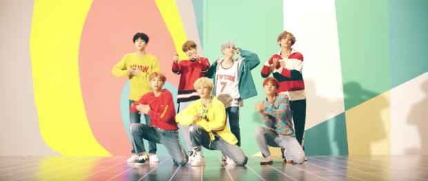 K-Pop Fashion Inspiration: BTS 'DNA' Music Video