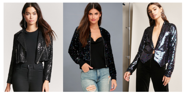 Class to Night Out: Sequin Jacket