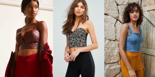 Would You Wear… a Cropped Bustier Top?
