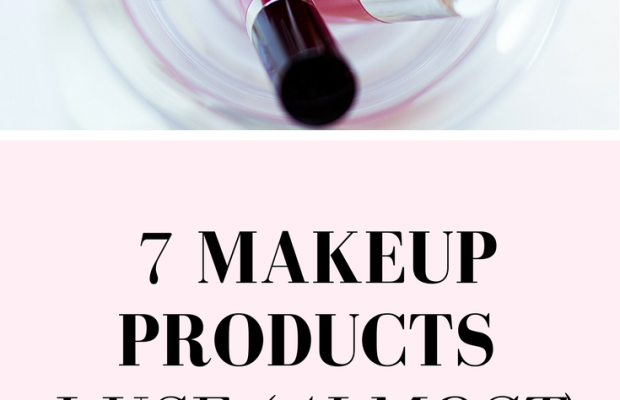 7 Makeup Products I Use (Almost) Every Day