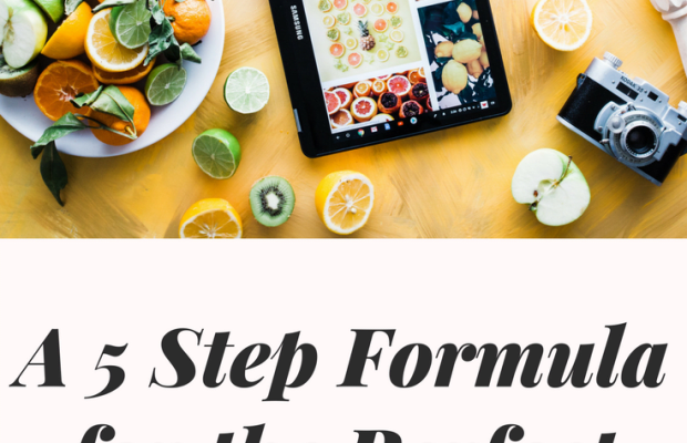 A 5 Step Formula for the Perfect Meal Prep