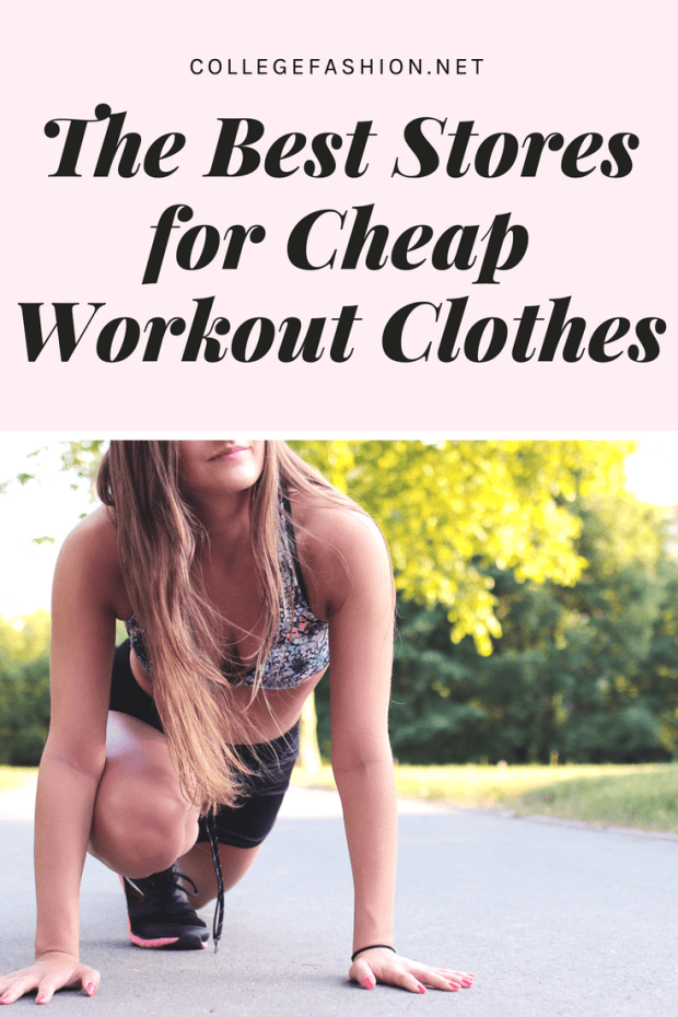 e159545ebe6 The Best Stores for Cheap Workout Clothes