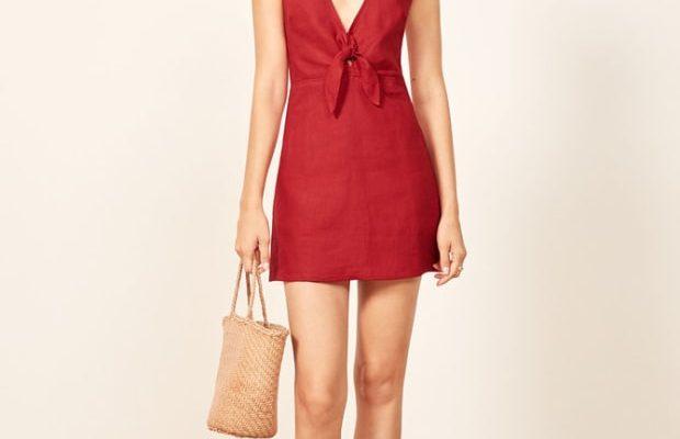 DIY Tutorial: V-Neck Dress