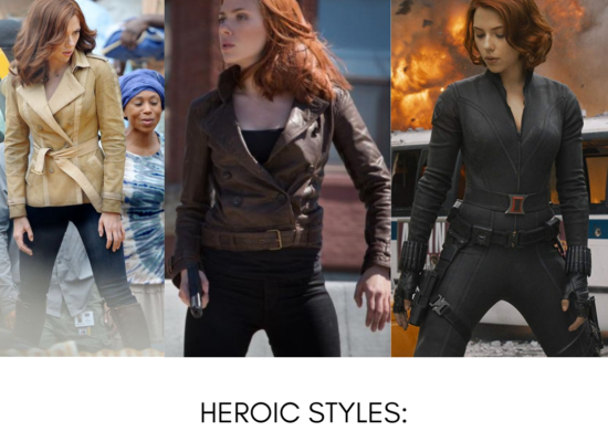 Heroic Styles: Black Widow