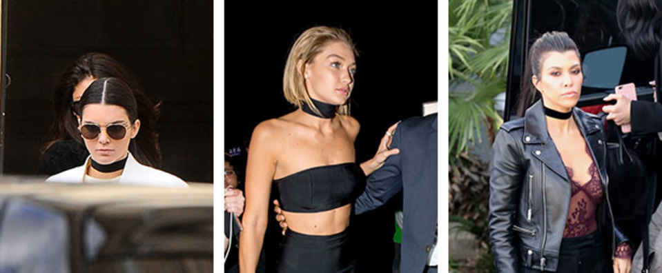 Trends Would You Wear… a Thick Fabric Choker?